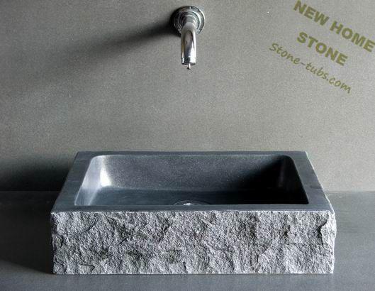 Granieten badkamer wastafels rechthoekige blauwe steen ijdelheid top wastafel op maat service - Rechthoekige gootsteen ...