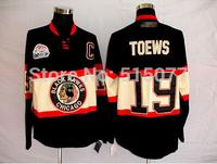 free shipping  Hockey Jersey #19 Chicago Blackhawks Jerseys Ice Hockey Jerseys Wholesale China Cheap Jerseys