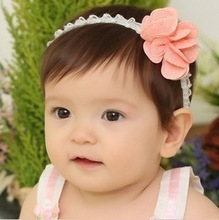 Zoo Party adorable little flower hair band infant children baby cotton headband hair jewelry photographed Hundred Days