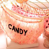 X.M Free Shipping Milk Fiber CANDY Underwear Wholesale Slip Comfortable Lace Underwear