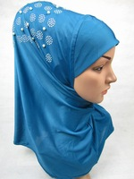newest  BEADING 2015 ONE PIECE LONG HIIJAB