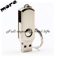 Hot selling  Waterproof Metal USB Flash Drives USB 3.0 pen drive 64GB 32GB 16GB 8GB  Flash Drive with key ring