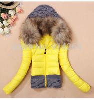 Womens Faux Fur Hooded Trendy Hoodie Zipper Coat Outerwear Winter Jacket Tops