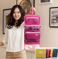 Free Shipping High Capacity Travel Hanging Toiletry Bag, cosmetic bag, makeup bag, travel organizer bag, wash bag