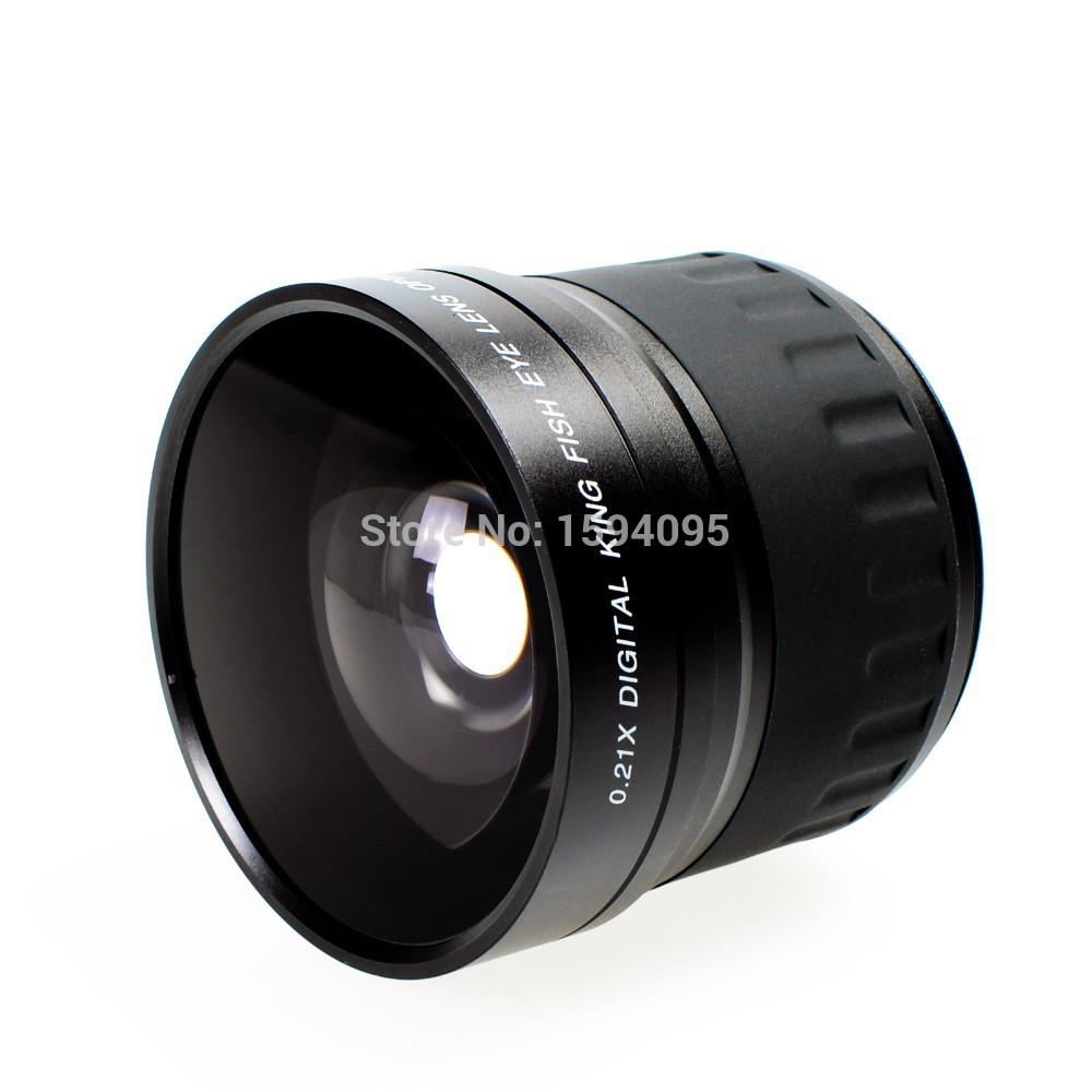 52mm 0.21X Fisheye Lens for nikon D3000 D3100 D3200 D5000 D5100 D5200 Free Shipping!!!(China (Mainland))
