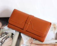 NEW DESIGN fashion genuine leather wallet women long style cowhide purse wholesale and retail leather bag free shipping