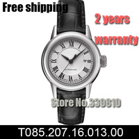 T085.207.11.051.00 women fashion Casual watch luxury brand Sports Watches relogios femininos leather Automatic Self-Wind watch