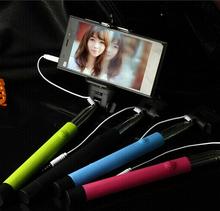 Extendable portrait Handheld selfie stick With grooves on monopod for IOS.SAMSUNG Camera & Photo Selfie Tripod Selfie Monopod