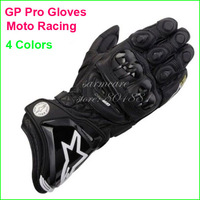 000234 - Top Quality Genuine Goat Genuine Leather GP Pro Professional Men Motocycle Racing Gloves Free Shipping Moto