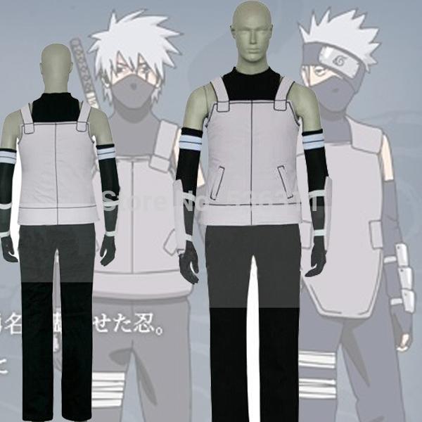 2015Halloween costumes for men Naruto anime Naruto Uchiha Sasuke Cosplay Costume Carnival costumes(China (Mainland))