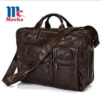 2015 высокое качество старинные 100% первый слой из натуральной кожи мужчины сумка ...