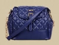 2015 new fashion bag 3 colors women messenger bags BaoLing lattice boom bucket bag lady handbags women bag wholesale