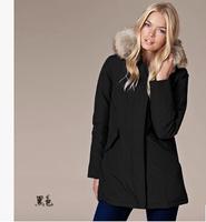 Top Quality 2014 Winter Jacket Women 90% White Down Coat Warm Ourterdoor Coat Sportting Coat Free Shipping