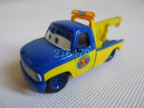 Pixar Cars Toon 1:55 Race Team Truck Tom Metal Toy Car Loose(China (Mainland))