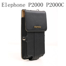 new Universal Original Remax Leather Case Cover For Elephone P2000 P2000C MTK6592 Octa Core  Cell Phone cases ,Free Shipping