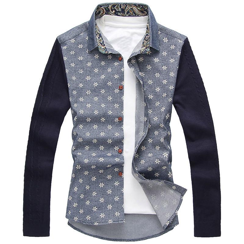Мужская повседневная рубашка Oem 2015 slim fit m/xxxlfree FMC0205-2752-P50 мужская футболка oem slim fit 2 2 no