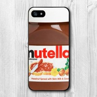 Chocolate Nutella Bottle Funny Protective Hard Cover Case For iPhone 6 Plus and 6 5 5S 5C 4 4S