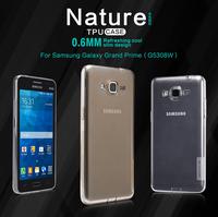 Freeshipping Original FNILLKIN TPU Case For Samsung G5308W/Galaxy Grand Prime Nature TPU Case 0.6MM Refreshing Cool Slim Design