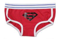 Women Lingerie Calcinha Boxer Underwear Free Shipping SuperMen High Quality Cotton Braguitas Underpants Sexy Open String Panties