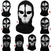 Balaclava Full Face Mask For Ghosts Skull Bike Skiing hood training mask