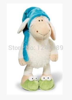 35 cm NICI sheep cartoon character for girls for kids plush animal toys(China (Mainland))