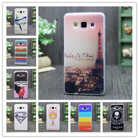 15 Spiece Rubber Silicone Soft Skin Gel TPU Print Shell Animated Cartoon Cover Case For Samsung Galaxy A5 A5000 A5009