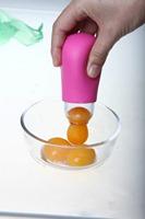 New Vitellus egg separator eggs white yolk gel Dividers suction cooking tools Kitchen Gadgets utensilios de cozinha criativos