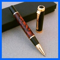ROLLER BALL PEN JINHAO 500 BLACK Brown marble Gray marble line gold