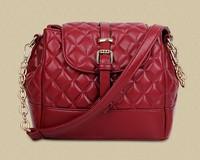 2015 new European and American fashion bag 3 colors female BaoLing lattice boom bucket bag lady handbags handbags wholesale