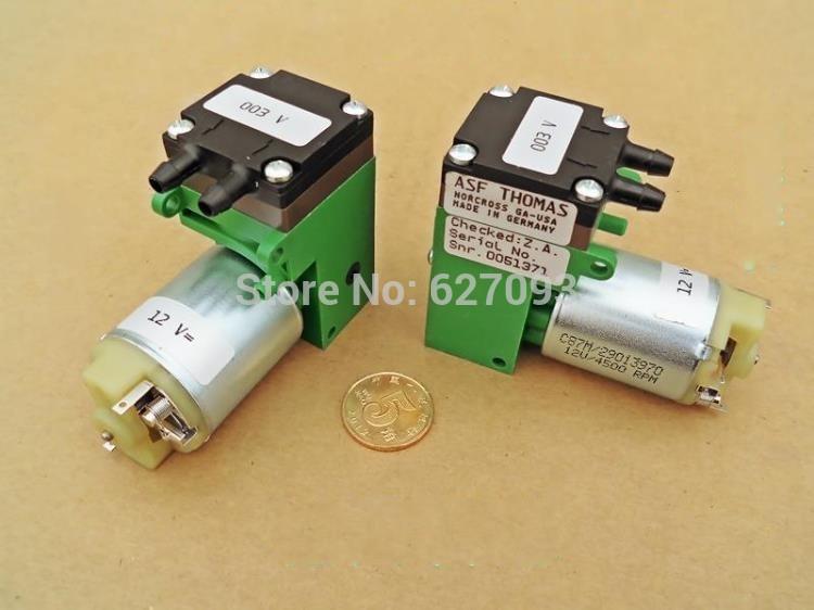 Germany DC self-priming pump diaphragm pump 12V DC vacuum electric pump For ASF Thomas(China (Mainland))