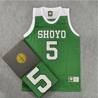 SHOYO #5 HANAGATA Jersey, Cheap SlamDunk SHOYO Basketball Jersey, Free Shipping!