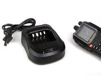 DC 8.4V 100-240V Original Wouxun KG-UV8D charger,Wouxun accessories AC Cord + Desktop Base Charger