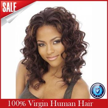 aliexpress virgin hair glueless lace front wig