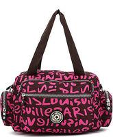New casual nylon women handbags small print shoulder bags women messenger bags fashion sport bolsas femininas