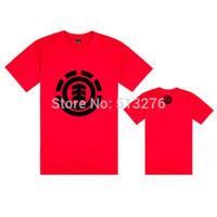 Summer Man Cotton Element T-shirt Skateboard Street Boy Element T Shirt Hip Hop Bboy Element Print Tshirt New Hot Shirt T-shirts
