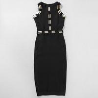 2015 High Quality Black HL kim kardashian Party dresses celebrity short prom dresses Drop Shipping