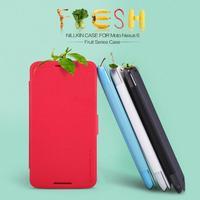 Nilkin Leather Case Sleep/wake up Smart Cover Protector Skin for Motorola Google Nexus 6