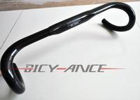 classic full carbon fiber road bike handlebar bent bar 3k finish 400/420/440mm manillar de bicicleta de carretera