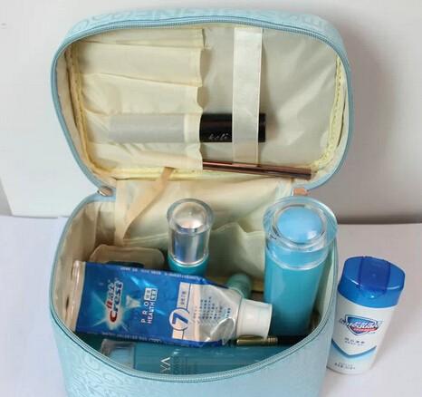Women Cosmetic Bag Travel Makeup Make up Storage Organizer Box Beauty Case 200pcs(China (Mainland))