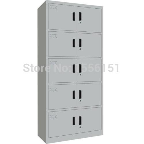 Metalen locker, stalen archiefkast, stalen kledingkast, stalen kast, slaapzaal locker(China