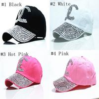 Retail 2015 New brand baseball caps cotton diamond snapback hats for men women bone Casual sport caps hats Free shipping