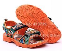 The new summer 2015 private cartoon caterpillar antiskid children sandals No mail