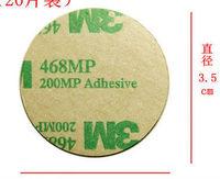 Hot sale 3.5 diameter Double-sided 3_M adhesive  sticker Round foam tape  die cutting car accessories 500pcs /lot