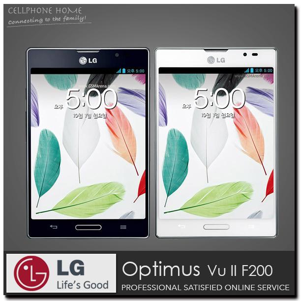 "Original Smartphone LG Optimus Vu II F200 Mobile Phone 16GB Dual-core 3G Celular 5.0"" 8MP WIFI Andriod Phones Russian Language(China (Mainland))"