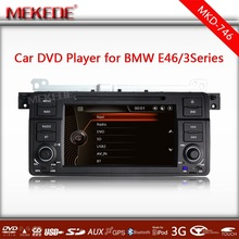 Special Car audio for 3series E46 M3 with GPS,ipod TV bluetooth,CANBUS +3G functions +map gift+MTK800MHz dual core dvd stereo