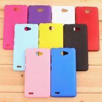Smartphone Case For Lenovo A768T Cover,Rubber Hard Back Cover Case For Lenovo A768T Cell Phones Case + Film + Stylus