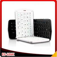 Free shipping Mini Wireless Bluetooth Folding Keyboard Foldable keyboard for iPhone iPad Sumsung Galaxy black white