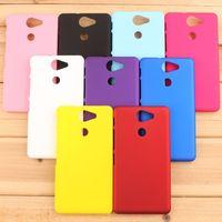Smartphone Case For Liquid X1 Case Rubber Matte Hard Plastic Cell Phones Case For Acer Liquid X1 Back Cover + Film + Stylus
