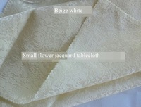 beige white 380cm round tablecloth polyester wedding cover table jacquard diameter 152 inches cloth table cloths