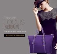 Women shoulder bags WaterProof leather folded messenger nylon bag dumplings travel tote hopping folding Cosmetic school handbags